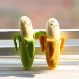 Approvisionnements d'école mignons de papeterie d'élèves de gomme à effacer de crayon de forme de banane