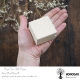 Hongdao подгоняло деревянную коробку Jewellery подарка для _E деревянной коробки крышки кольца драгоценности малого прикрепленного на петлях