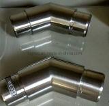 Menuisier affleurant coude de tube de 135 degrés pour la balustrade d'acier inoxydable