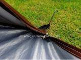 Серебряный Coated портативный немедленный шатер Sun пляжа с закрытой дверью и задним окном