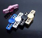 El hilandero de acero de la mano del rodamiento juega a hilandero del juguete de la mano para los cabritos