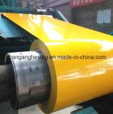 Высоко - цвет цинка типа покрыл гальванизированную стальную катушку для толя
