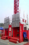elevación de la jaula del elevador de la construcción 2t para la venta ofrecida por Hsjj