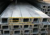 Canal de acero Pre-Galvanizado Q235B de la alta calidad en diversas tallas