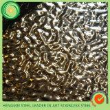 GV 304 placa inoxidável de gravação de carimbo do patim de 316 201 chapas de aço para a decoração Pannle da parede