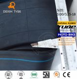 Motorccyle Naturkautschuk-inneres Gefäß-Motorrad weidet 3.00/3.25-17 aus