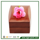 Горячая коробка Jewellery сбывания высоко лоснистая цветастая деревянная