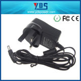 12V 1A het UK Wall Plug in Adapter