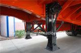 de 3-Axles los 40FT alto de la cerca acoplado lateral resistente semi con 3 gradas