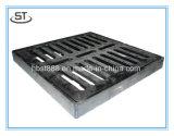 排水のための鉄の鋳造の溝の火格子