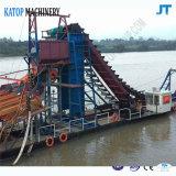 Baggermachine voor de Diamanten die van Diamanten de Emmerbaggermolen van de Boot uitbaggeren