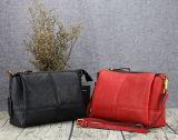 方法女性ハンドバッグ、革革靴の余暇袋
