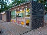 Casa modular do recipiente do painel de sanduíche