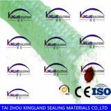 (KLP213) PTFE avec la garniture du joint de presse-étoupe de faisceau en caoutchouc de silicones