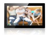 18.5 pulgadas de entrada HDMI marco de fotos digital con montaje en pared