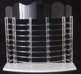 Personnaliser le support acrylique clair d'étalage de présentoir