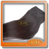 毛の織り方の新しいものクリップのRemyのブラジル人