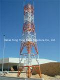 직류 전기를 통한 모난 각 강철 자활하는 통신 탑
