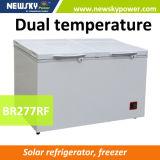 Energía solar profunda Refrigertator con el congelador