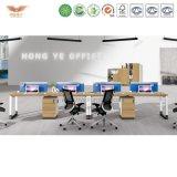Poste de travail en bois modulaire moderne de meubles de bureau (H90-0216)