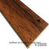 贅沢な防水PVCタイル木製クリックのビニールのフロアーリング