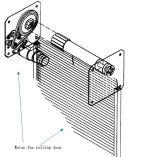 800kg Electrical DC Rolling Door Opener