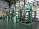 Linha de produção de pneus de motocicleta e borracha / tubo, imprensa de pneus sólida