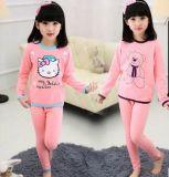 De katoenen van Kinderen 's Comfortabele Pyjama's