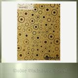 Ti-Goldüberzogene Spiegel-Farben-Edelstahl-Platten für Wand-Dekoration