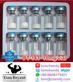 Péptido de adquisición PT-141 (10mg/vial) CAS Niza del músculo de la calidad del 99%: 32780-32-8