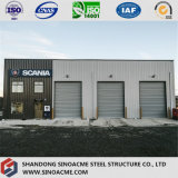 Steel Construction Commercial for Building Office with Garage