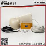 Ripetitore mobile a due bande del segnale di UMTS 3G CDMA/UMTS 850/2100MHz di alta qualità con l'antenna