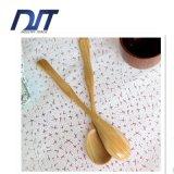 中国の自然汚染の木製のスプーンテーブルウェアのないペンキ無し