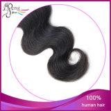 Cheveux humains de Vierge de fermeture de lacet de cheveux humains de 100%