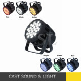 IP65 esterno 24*18W 6in1 LED Pieno-Color PAR Can Light