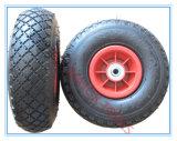 3.00-4 Roda de borracha de Pnuematic para carros do trole do vagão