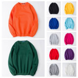 Atacado Custom Men Plain Solid Color Crew Neck Sweatshirts