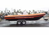 Aqualand 30feet 9m Rib Boat/Militray Rescue Patrol/Motor Boat (RIB900B)