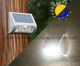 Vente chaude de lumières solaires fixées au mur décoratives extérieures