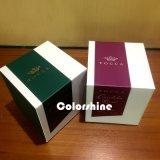 Коробка подарка упаковки бумаги свечки высокого качества с серой доской