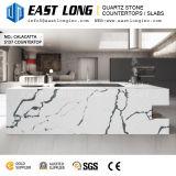 台所デザインまたは壁パネルのための高い等級のCalacattaの水晶石の平板または磨かれた固体表面が付いているカウンタートップ
