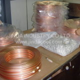 ASTM B280 Pancake Coil Copper Pipe in Refrigeration