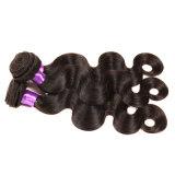 Les extensions indiennes indiennes de cheveux humains de cheveu de Vierge de l'onde 3PCS de corps de cheveu de Vierge non transformée vendent les paquets crus d'armure de cheveu de Remy