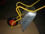 電流を通された皿(WB6404H)が付いている頑丈な一輪車