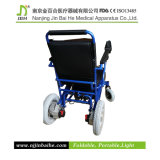 Handicapped plegable Electric Wheelchair para The Disabled y personas mayores