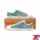 [دروبشيبّينغ] مصنع يجعل عادة أحذية تصعيد طبعة نوع خيش حذاء رياضة