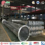 Tubo ranurado del acero inoxidable de ASTM A312 TP304 para el receptor de papel de agua
