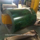 El precio bajo prepintó la hoja galvanizada PPGI de la placa de acero para el material para techos del metal