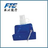 480ml ostenta garrafas de água Foldable ou dobráveis com BPA livre