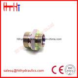 1CB-Wd 1dB-Wd metrischer Mann 24 Grad-Kegel-/Bsp-sichernde Dichtungs-hydraulische Adapter China-von der hydraulischen Adapter-Manufaktur